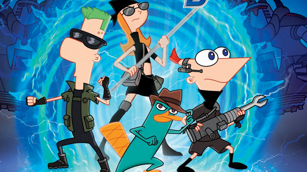 basauri_ibaigane_zinema_phineas_and_ferb_cartel