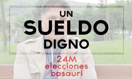 basauri elecciones 2015 sueldo digno
