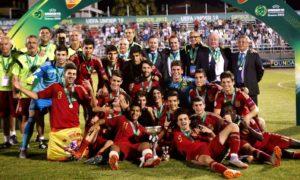 basauri basconia unai simon 2015 espana sub 19