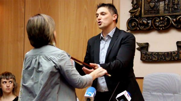 basauri andoni busquet investidura alcalde loly de juan junio 2011