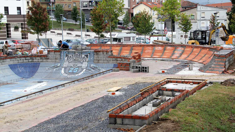 basauri basozelai skatepark 2015 obras 2
