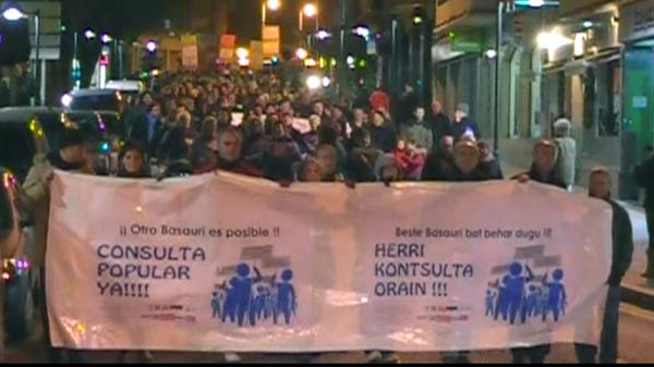 basauri otro basauri manifestacion enero pancarta