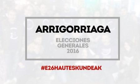 arrigorriaga elecciones 2016 generales