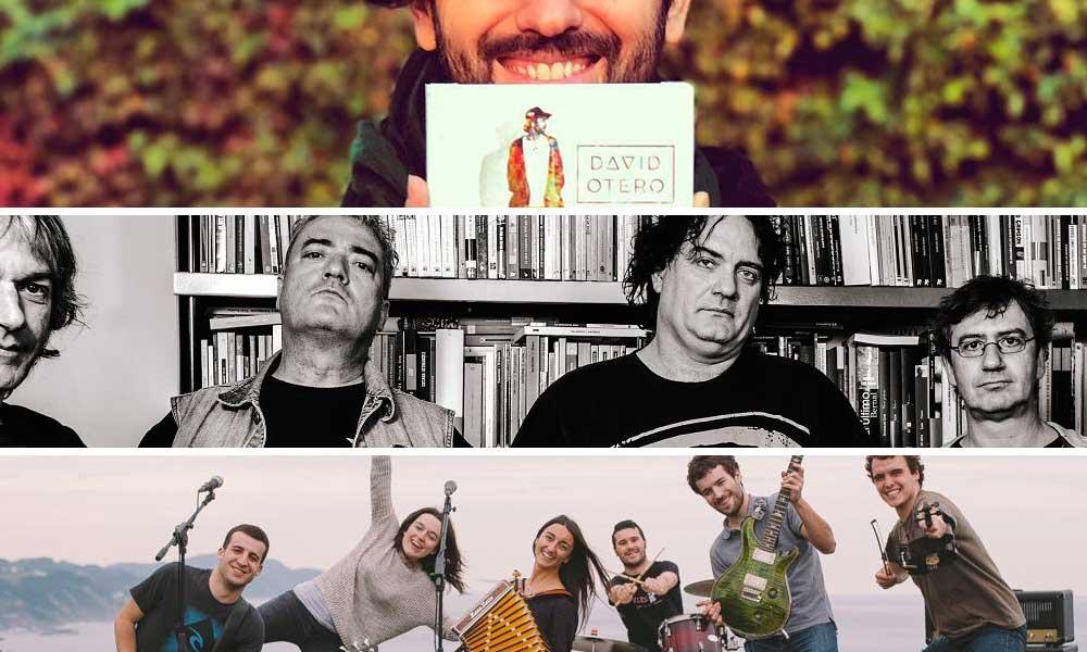 Basauri fiestas conciertos 2017 Huntza Recincidentes David Otero