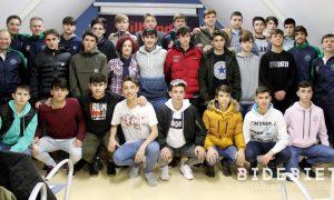 Basauri Selección Futbol 2018 Presentación
