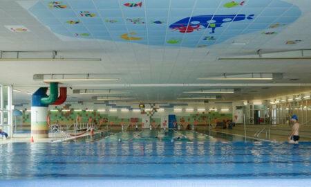 huelga polideportivos piscina