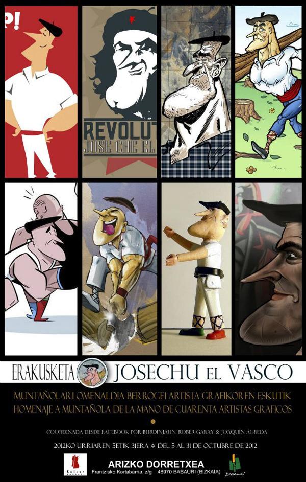 basauri_arizko_dorretxea_expo_josechu_el_vasco_cartel