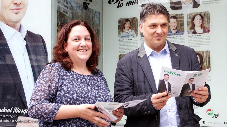 basauri elecciones 2015 nora pereda andoni busquet