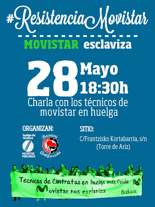 basauri movistar 2015 charla huelga tecnicos