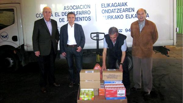 basauri basconia ehun urte banco alimentos bizkaia camion 2013