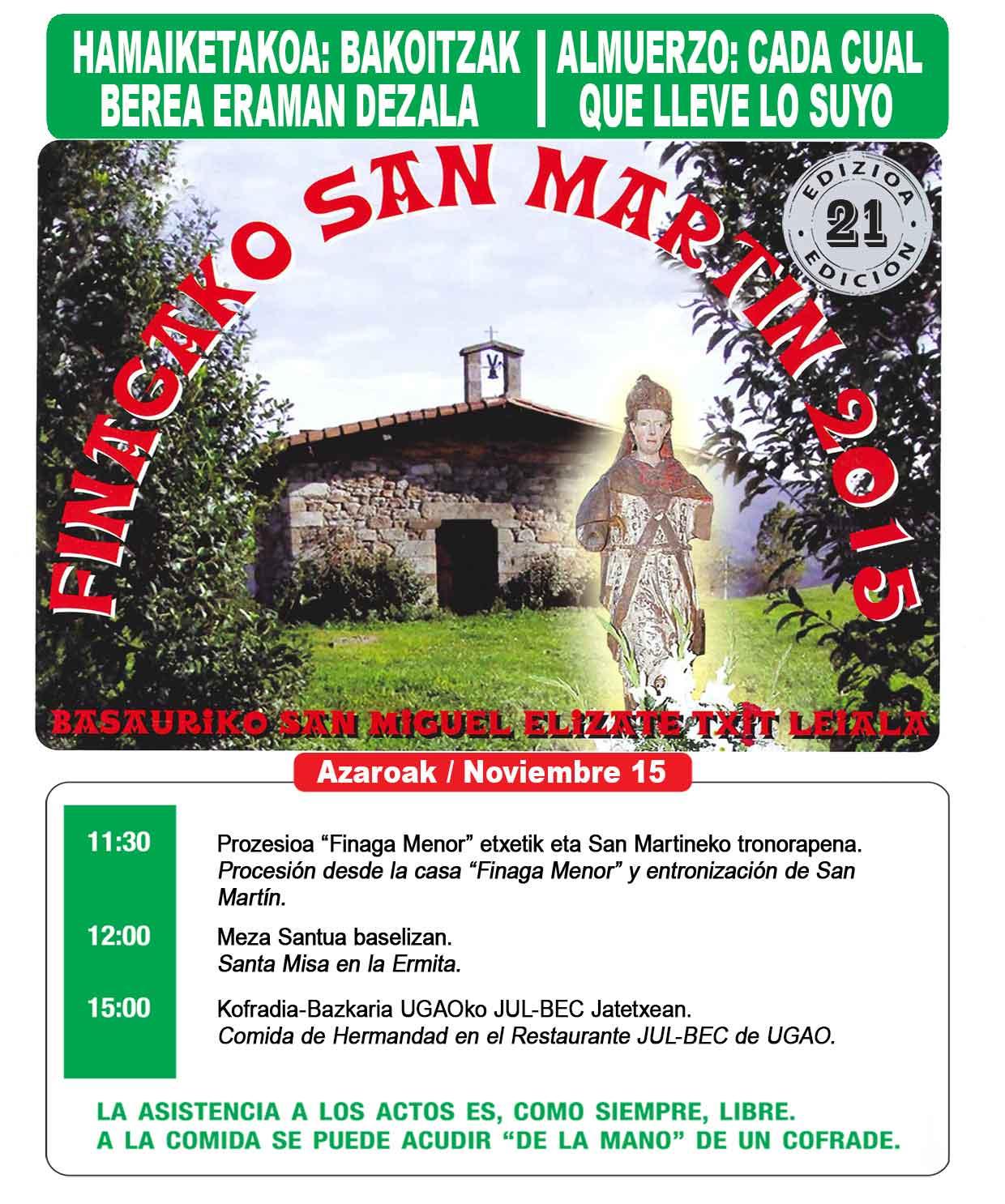 basauri finaga 2015 cartel noviembre