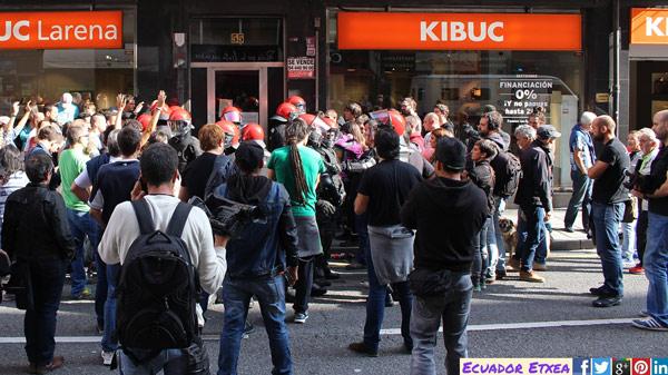 basauri desalojo 2016 kalero protesta