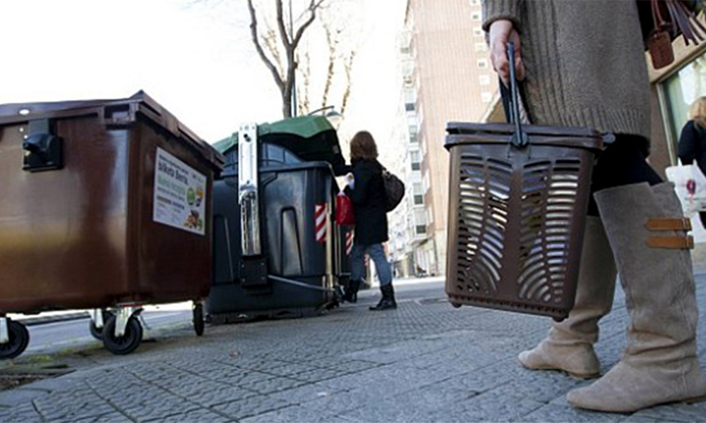 contenedores materia orgánica