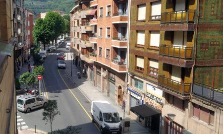 nagusia calle peatonalización