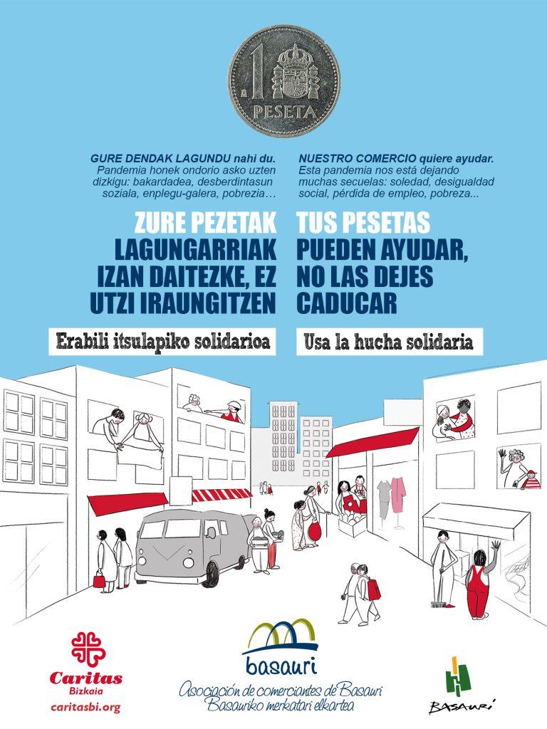 comerciantes basauri pesetas