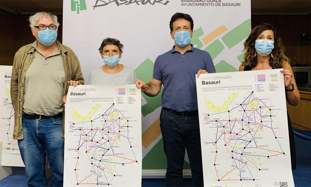 metrominuto mapa movilidad