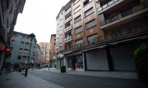 calle galizia alumbrado