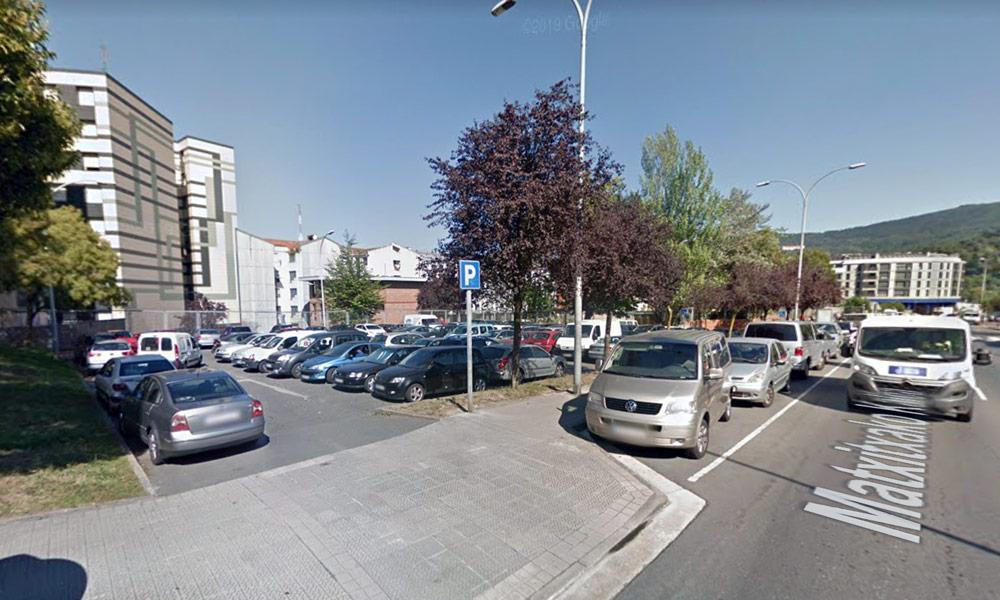 aparcamiento matxitxako